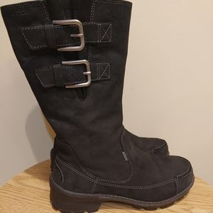 Ecco Leather boots for winter snow size 37/6.5-7
